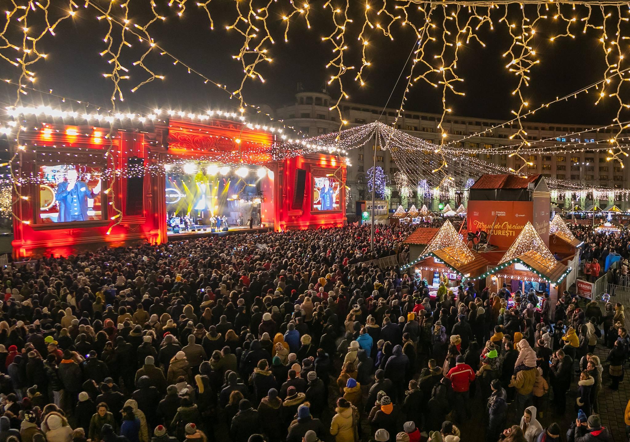 Targul de Craciun Bucuresti 2019 din Piata Constitutiei se deschide pe 28 noiembrie