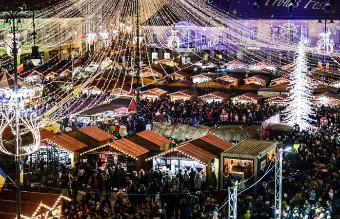 Targul de Craciun Sibiu 2019