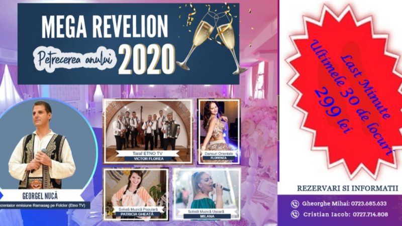 Revelion 2020 la Simposio Events – Last minute
