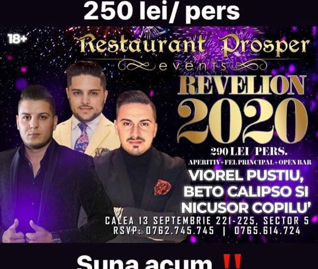 Revelion 2020 la Prosper – Last minute 250 lei