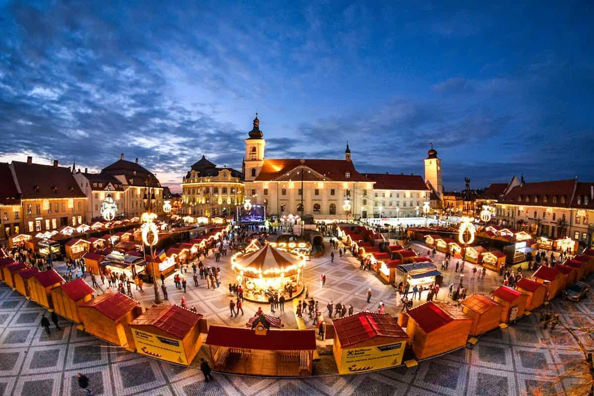 Targul de Craciun 2020 de la Sibiu a fost anulat