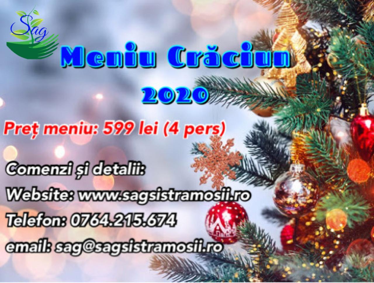 Meniu de Craciun cu livrare de la SAG Catering Meniu de Craciun cu livrare de la SAG Catering